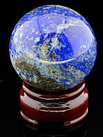 046386 Шар Лазурит 56х56мм.  шарик из натурального камня