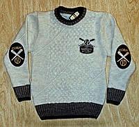 Детский теплый свитер - Baseball