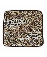 Чехол на табурет леопард