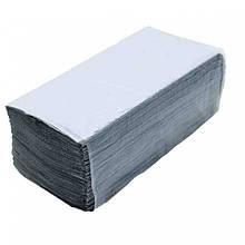 Полотенце бумажное V серое 160шт/уп