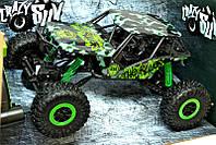Машина джип на радиоуправлении Rock Crawler Through 1:10 зелёный