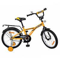 """Детский двухколесный велосипед Profi Racer 14"""" (G1434) с ободными тормозами"""
