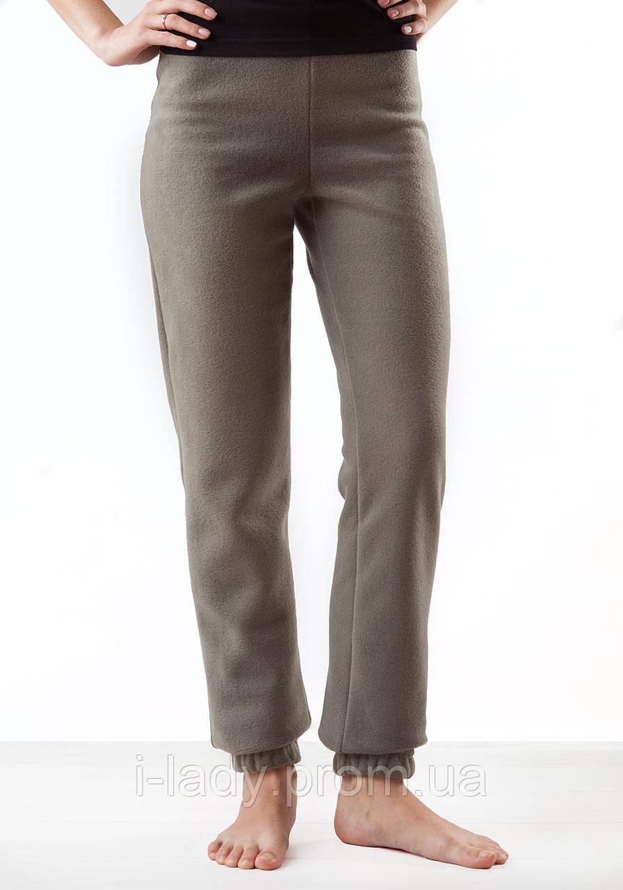 4c1fb53e2201 Теплые мягкие зимние женские флисовые штаны серого цвета