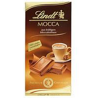 Немецкий  Шоколад Lindt Mocca 100 грамм
