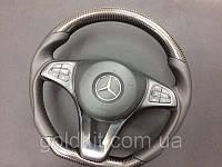 Руль карбоновый на Mercedes W222, W205, W217, W218 стиль AMG