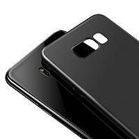 Защитный чехол от Baseus для Samsung Galaxy S8 Plus Solid Black - Надёжная защита толщиной всего 0,4мм!