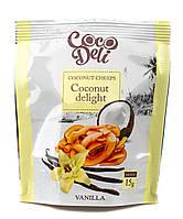 """Чипсы кокосовые со вкусом ванили, ТМ """"Coco Deli""""15 г"""