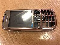 Корпус Nokia 6303 металл (панель,средняя часть,задняя крышка) Медь.кат.Extra
