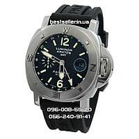 Часы Panerai Luminor Arktos GMT 47mm (Механика) Silver Black. Класс  Elite 8f3292b8ccb