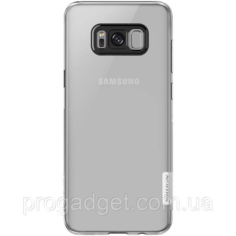Защитный чехол от NILLKIN для Samsung Galaxy S8 Plus прозрачный - Надёжная защита толщиной всего 0,4мм!