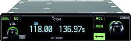 Авиационная радиостанция ICOM IC-A210