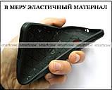 Надежный противоударный бампер на Huawei Nova Lite 2017 чехол Carbon TPU, фото 4