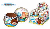 СОЮЗМУЛЬТФИЛЬМ Шоколадный шар с 3Д игрушкой 25г., Конфитрейд