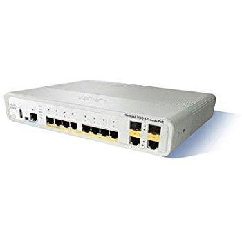 Коммутатор Catalyst 3560C Switch 8 GE PoE(+), 2 x Dual Uplink, IP Base (WS-C3560CG-8PC-S)