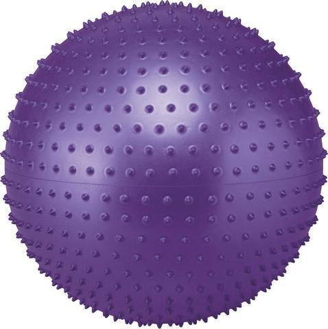 Мяч для фитнеса SOLEX массажный 55см