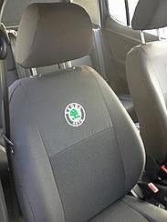 Чехлы в салон для Skoda Fabia (6Y) Sedan (раздельная) с 2001-07 г (модельные) (EMC-Elegant)