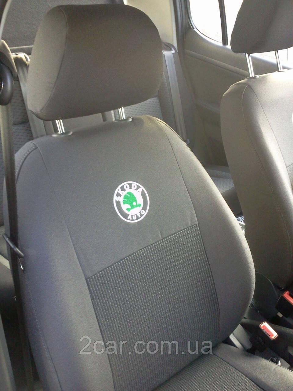 Чехлы в салон модельные ВАЗ Lada Granta 2190 c 2011 г (EMC-Elegant)