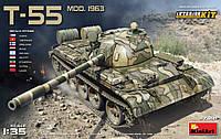 Т-55 мод.1963 года с интерьером 1/35 MiniART 37018