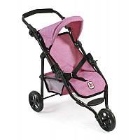 Прогулочная коляска для кукол Bayer Chic Pink Denim Walker