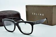 Прямоуголная  женская оправа Celine  черная