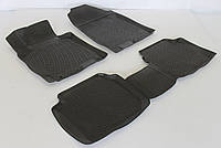 Полиуретановые коврики в салон Hyundai Elantra (ТАГАЗ) (08-) серые (L.Locker)