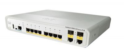 Коммутатор Catalyst 3560C Switch 12 FE PoE, 2 x Dual Uplink, IP Base (WS-C3560C-12PC-S)