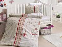 Комплект детского постельного белья детское PALMY KIRMIZI FIRST CHOICE