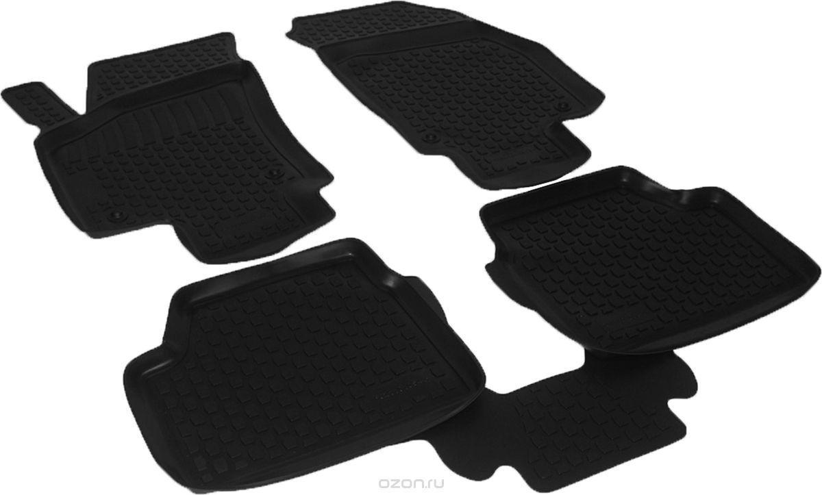 Полиуретановые коврики в салон Opel Astra hb (04-) (L.Locker)