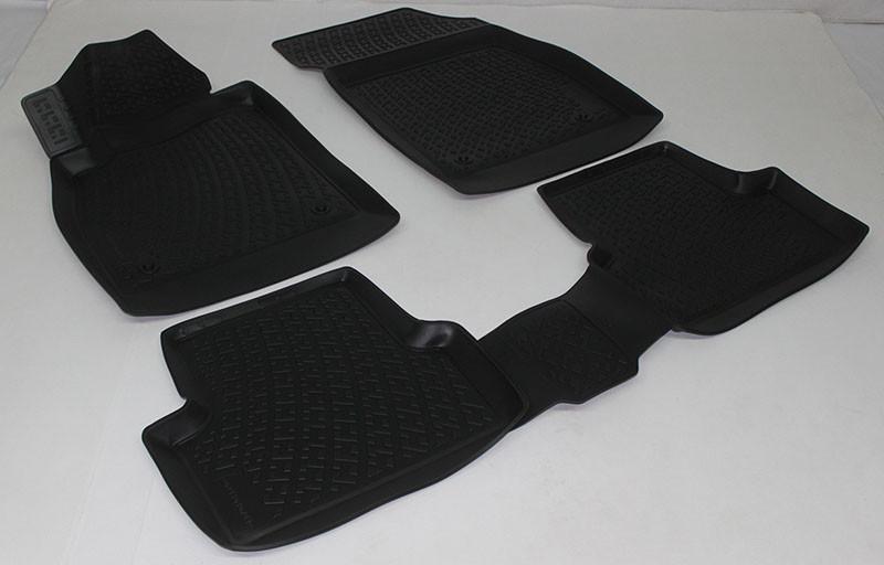 Полиуретановые коврики в салон Opel Astra J GTC (11-) 3D (L.Locker)