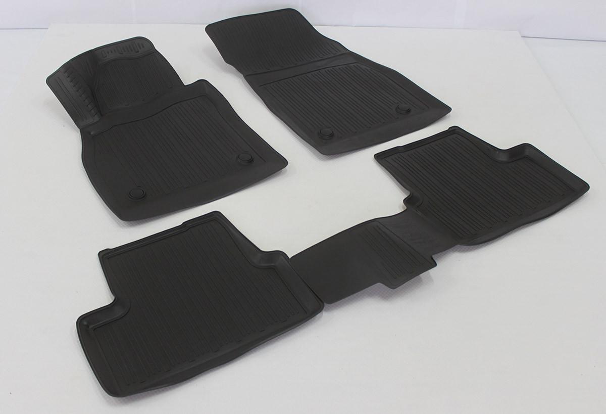 Полиуретановые коврики в салон Opel Astra J hb (09-) 3D (L.Locker)
