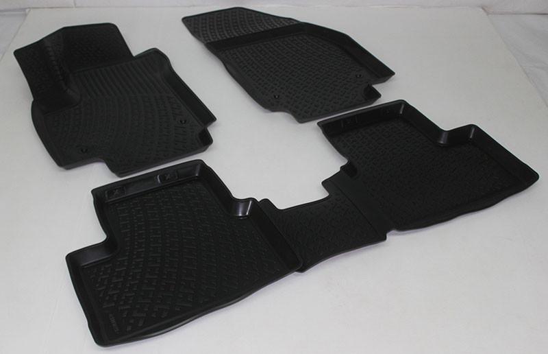 Полиуретановые коврики в салон Opel Meriva (02-) (L.Locker)