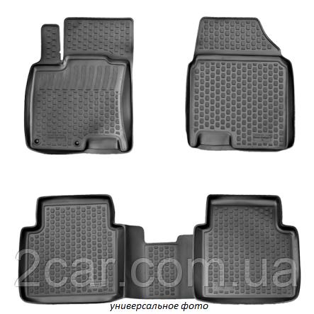 Полиуретановые коврики в салон Opel Zafira B (05-) 3D (L.Locker)