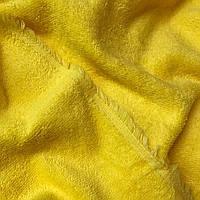 Махра желтого цвета,премиум двухсторонняя  ММ-4