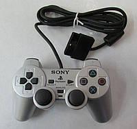Джойстик Playstation 2,DualShock 2 (PS2) оригинал класс H silver БУ