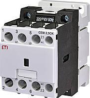 Контактор ETI CEM 2,5CK.01-230V-50Hz (4643803)