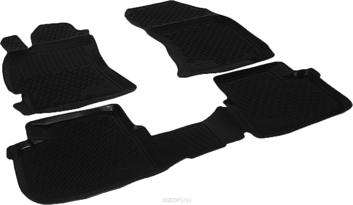 Полиуретановые коврики в салон Subaru Forester III (08-) (L.Locker)