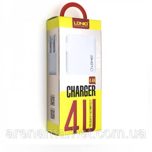 Сетевое зарядное устройство LDNIO A4403