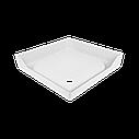 Душевой поддон Invena 90x90 квадратный акриловый, фото 2