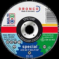 Диск з мет/кер.плит.125х1.2х22.2 Dronco