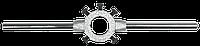 Вороток д/плашек 230мм(М3-М12),TOPEX