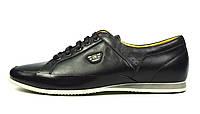 Черные туфли мужские кожаные комфорт Fashion Family (весна, лето, осень), фото 1