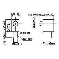 Светодиод индикаторный L-H311Y PARA