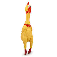 CRAZY Курица пищалка большая 43см