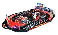 Двухполосный многоуровневый автотрек 1:59 WL Toys с ручным генератором. Отличное качество. Дешево. Код: КГ2473