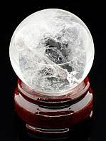 046847 Шар Горный хрусталь 47х47мм.  шарик из натурального камня