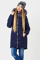 Теплая длинная куртка женская TAIL 42–50р. в расцветках