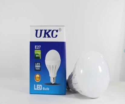 Лампочка  LED LAMP E27 18W Круглые, фото 2
