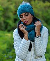 Зимняя женская шапка Мадлен