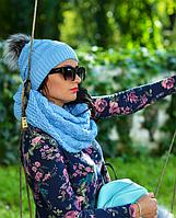 Зимняя шапка Тина