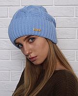 Теплая женская шапка Бамбук
